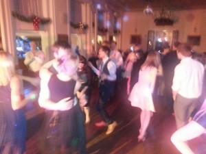 the dancefllor is heaving