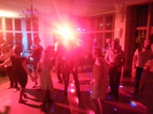 West Midlands Band Party Guests Dancing