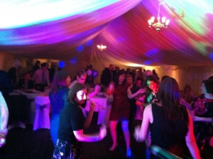 West Midlands Wedding Marquee Live Band
