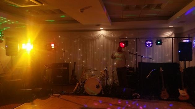 West Midlands Wedding Band Set-Up